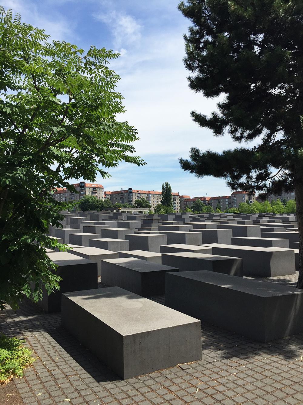 memorial itineraire berlin