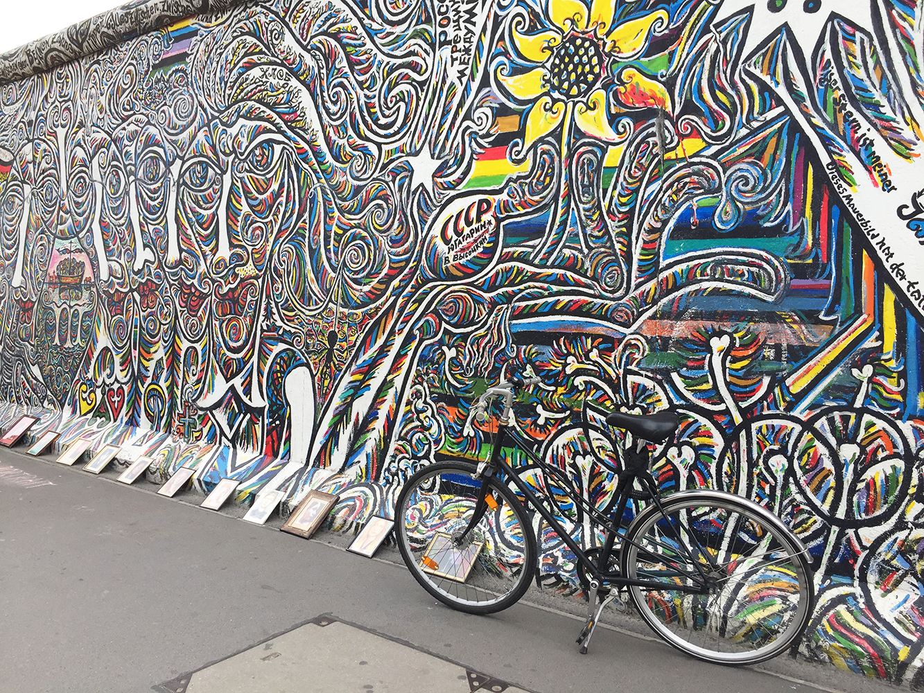 oeuvre sur east side gallery