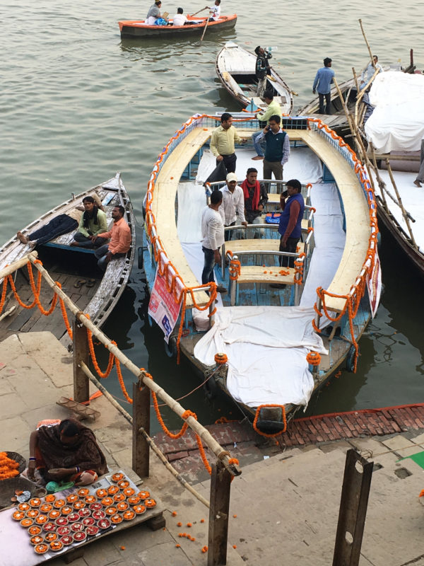 Visiter Varanasi, ville sacrée