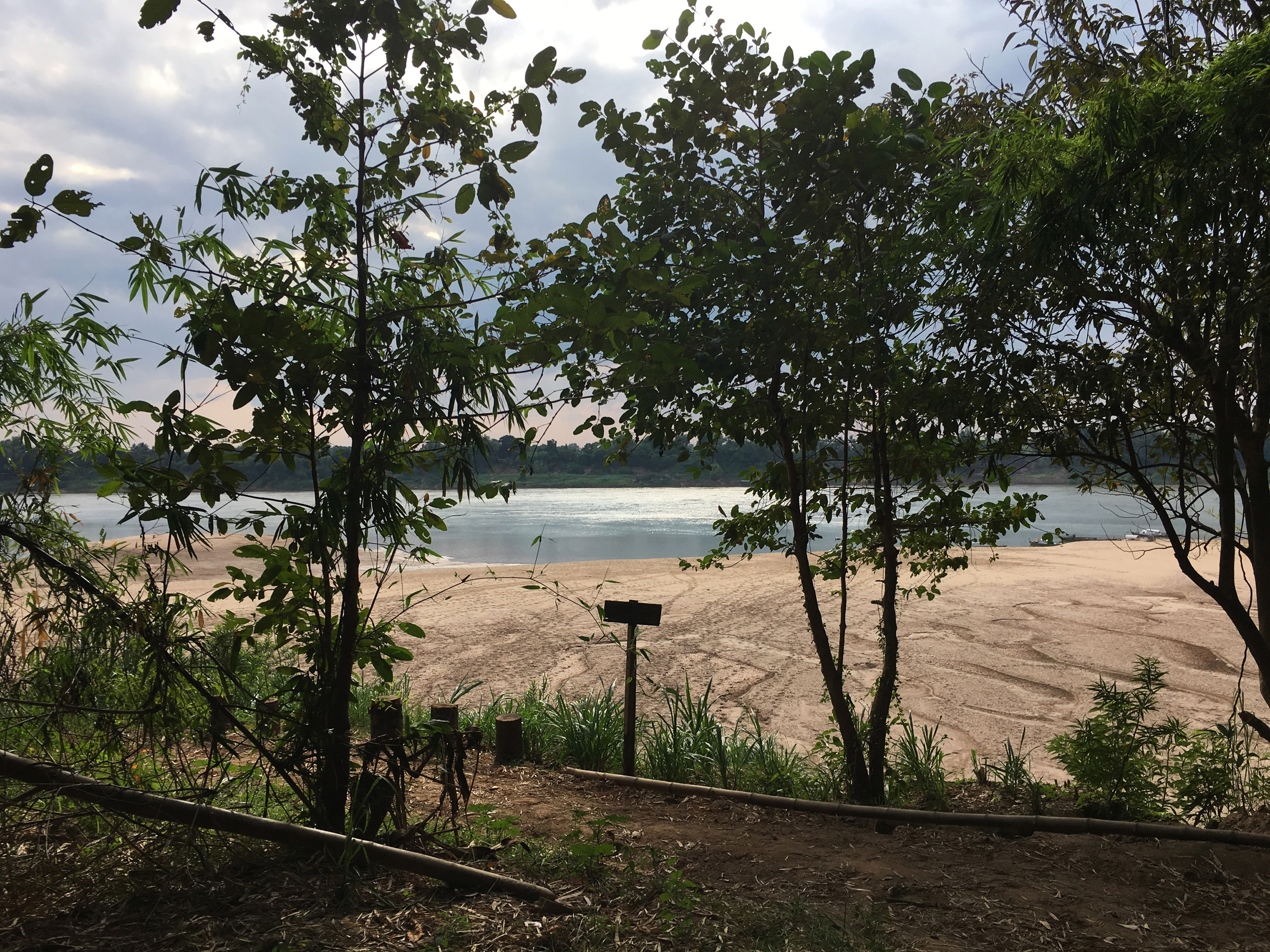 koh trong plage